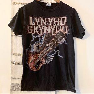 LYNYRD SKYNYRD Retro Vintage Band Tee Distressed